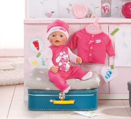Baby Born Deluxe Babys First Clothing Set