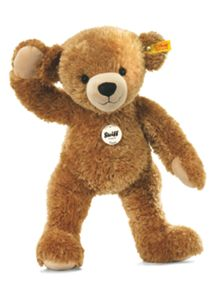 Happy bear, light brown, 28cm 012662