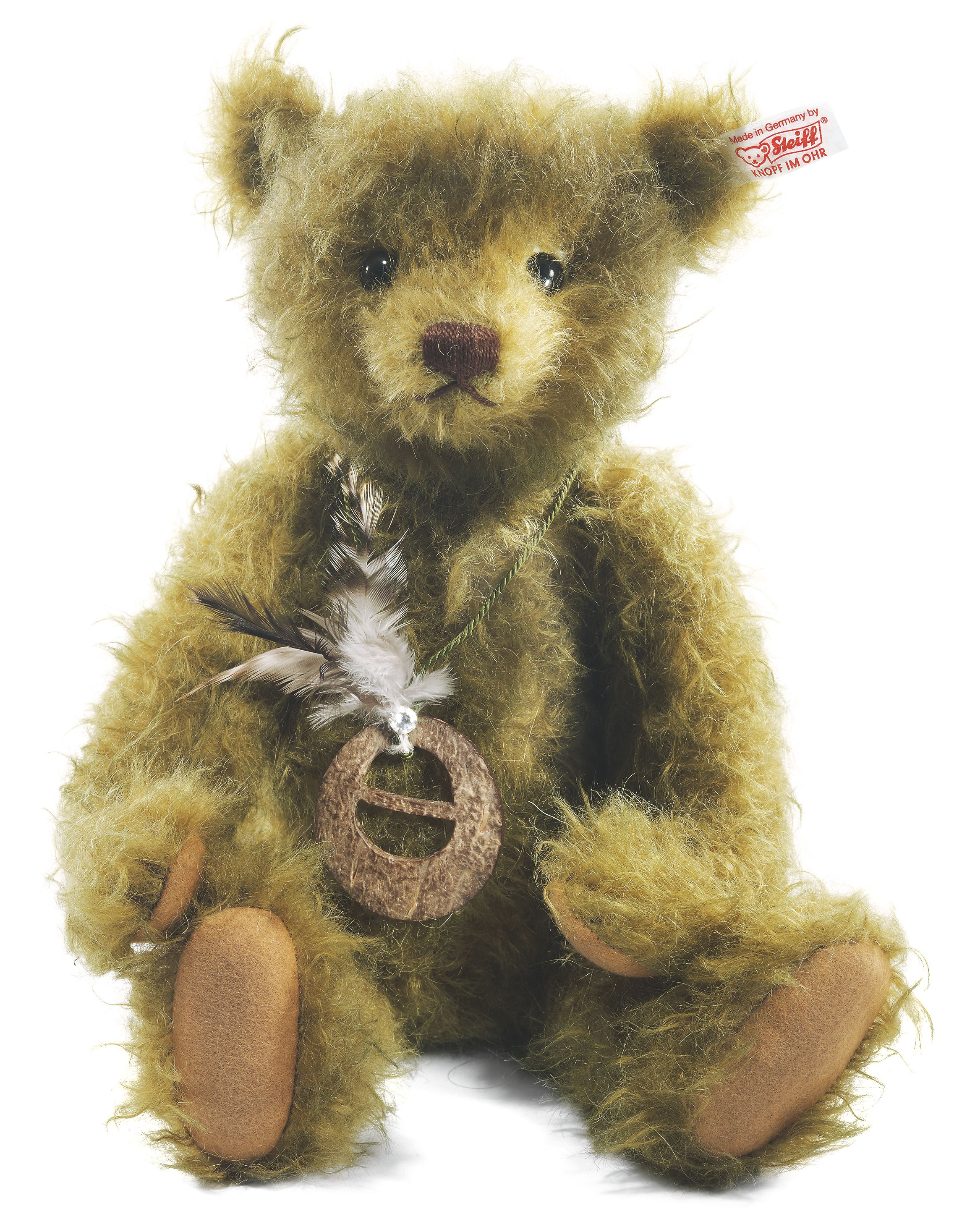 Steiff Jules the Jungle Teddy Bear 034947