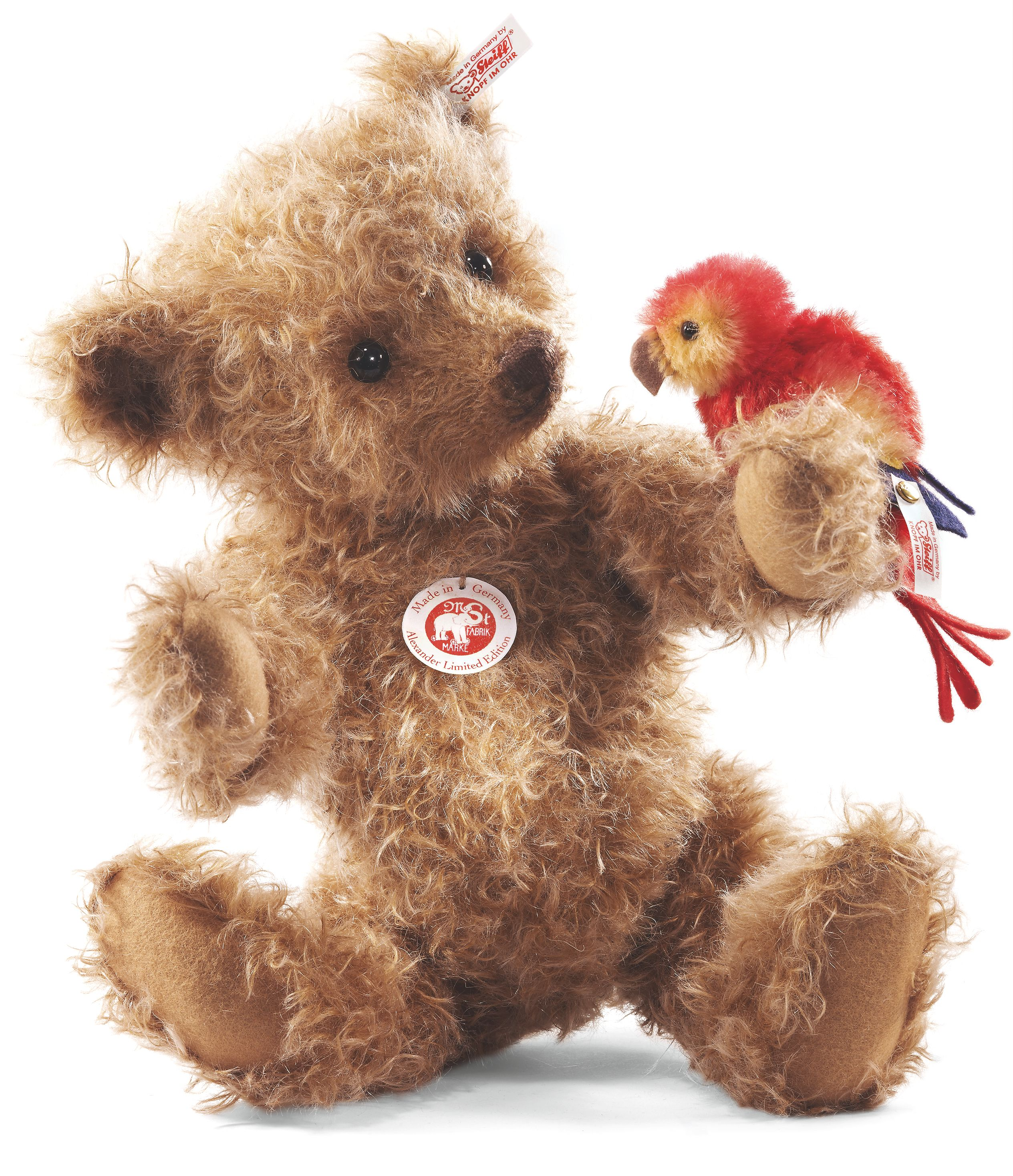 Alexander Teddy bear Mottled Brown 034978