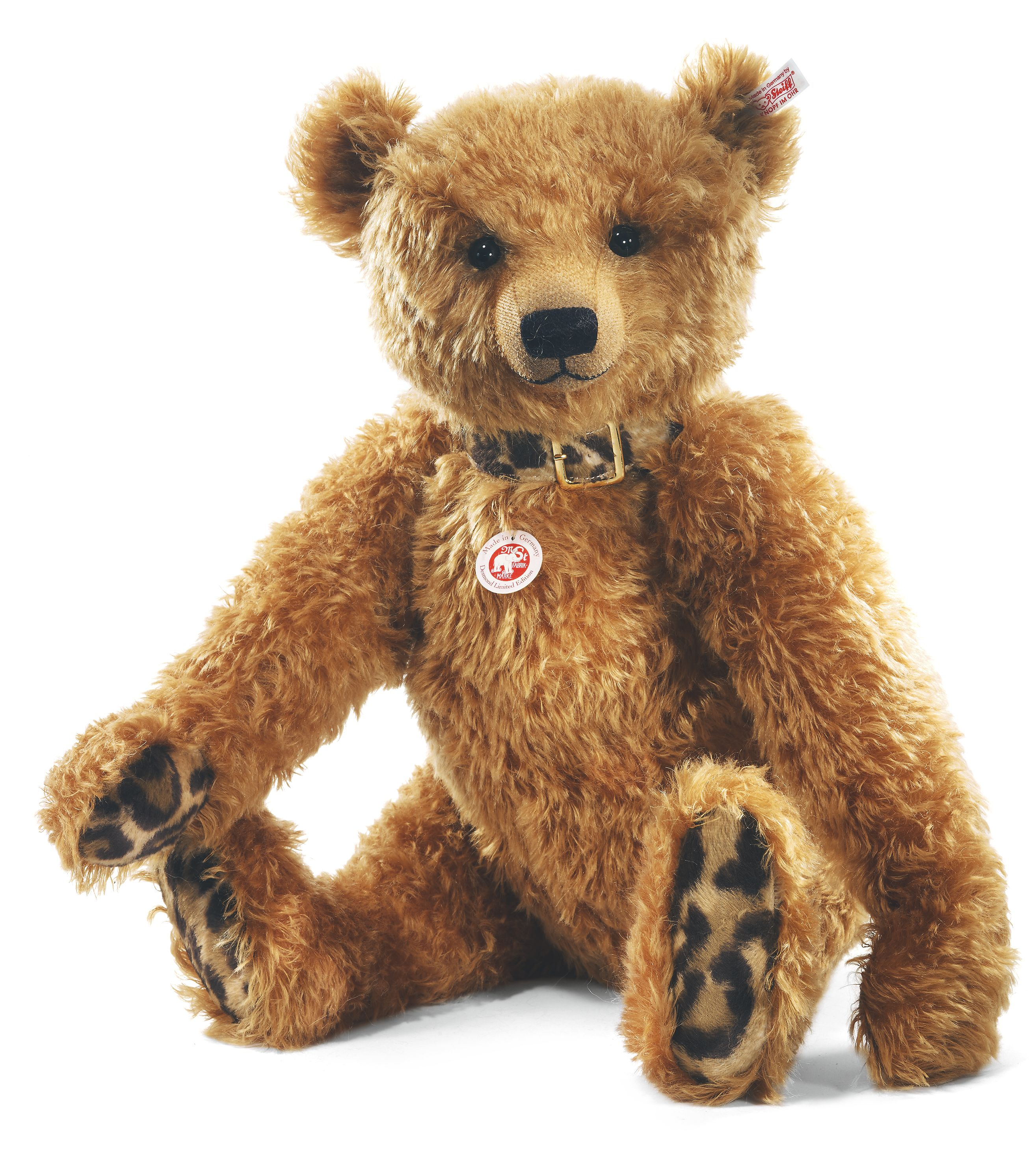 Steiff Desmond Teddy Bear Golden Bear 035173