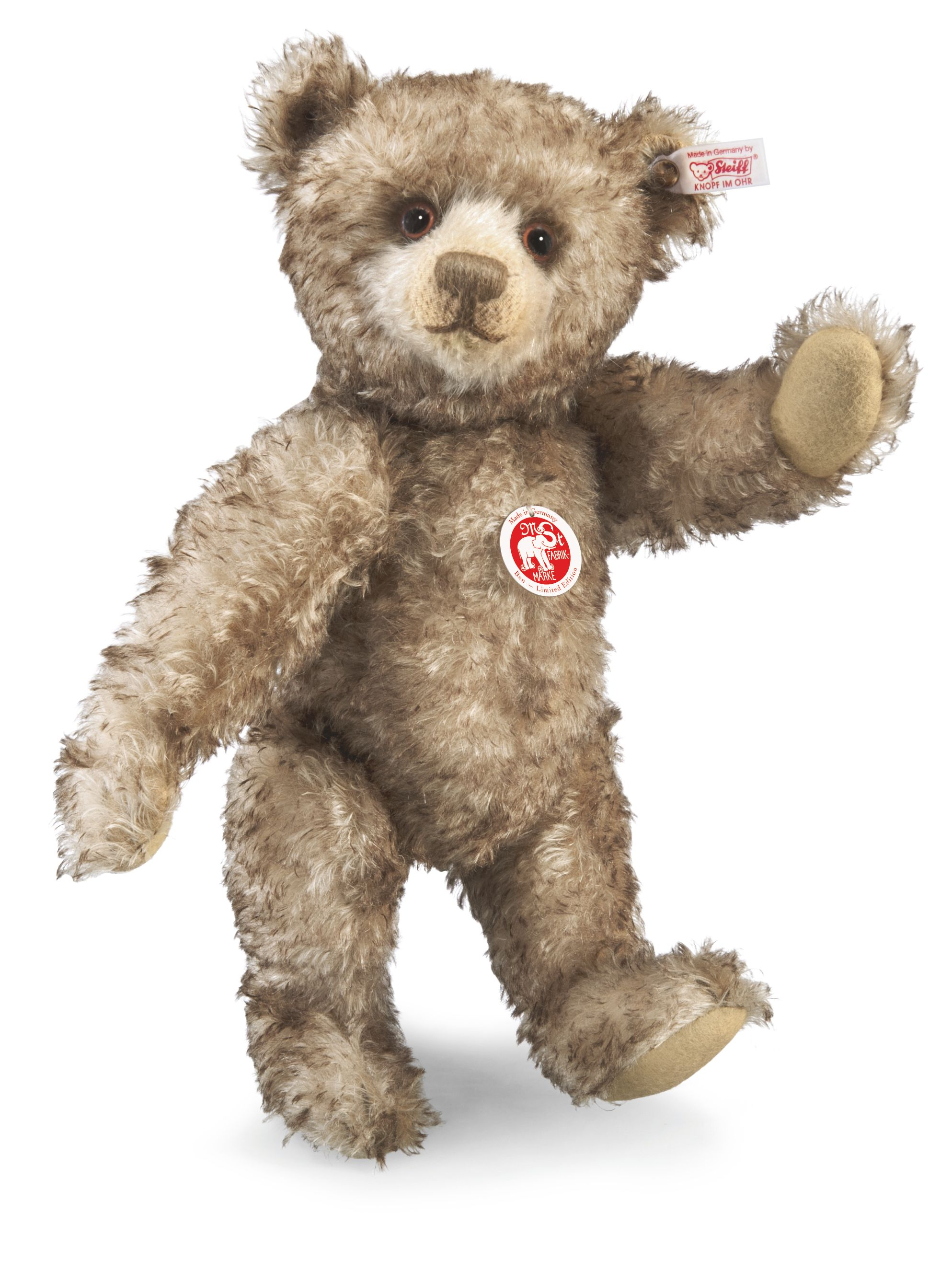 Steiff Ben Teddy Bear Brwn tipped 036972