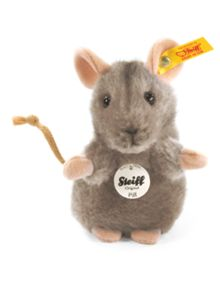 Children`s piff mouse, grey 10cm 056222
