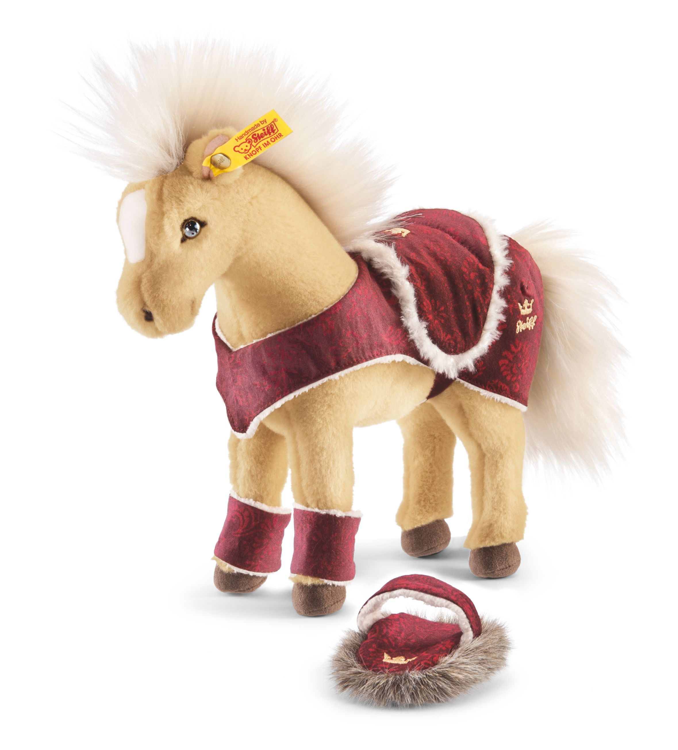 Steiff Horse Play Set, Blond 070631