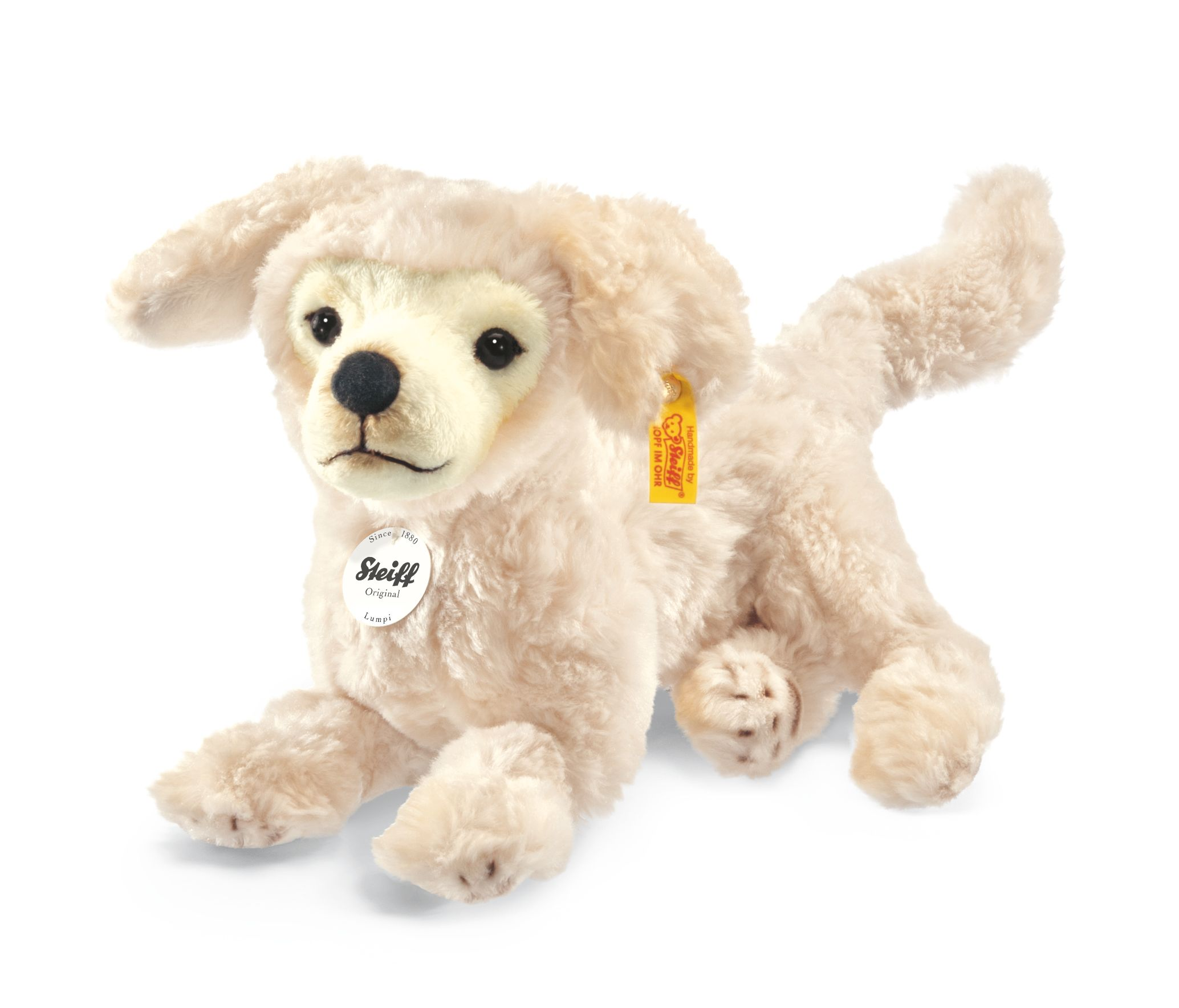 Steiff Lumpi Golden Retriever Cream 076978