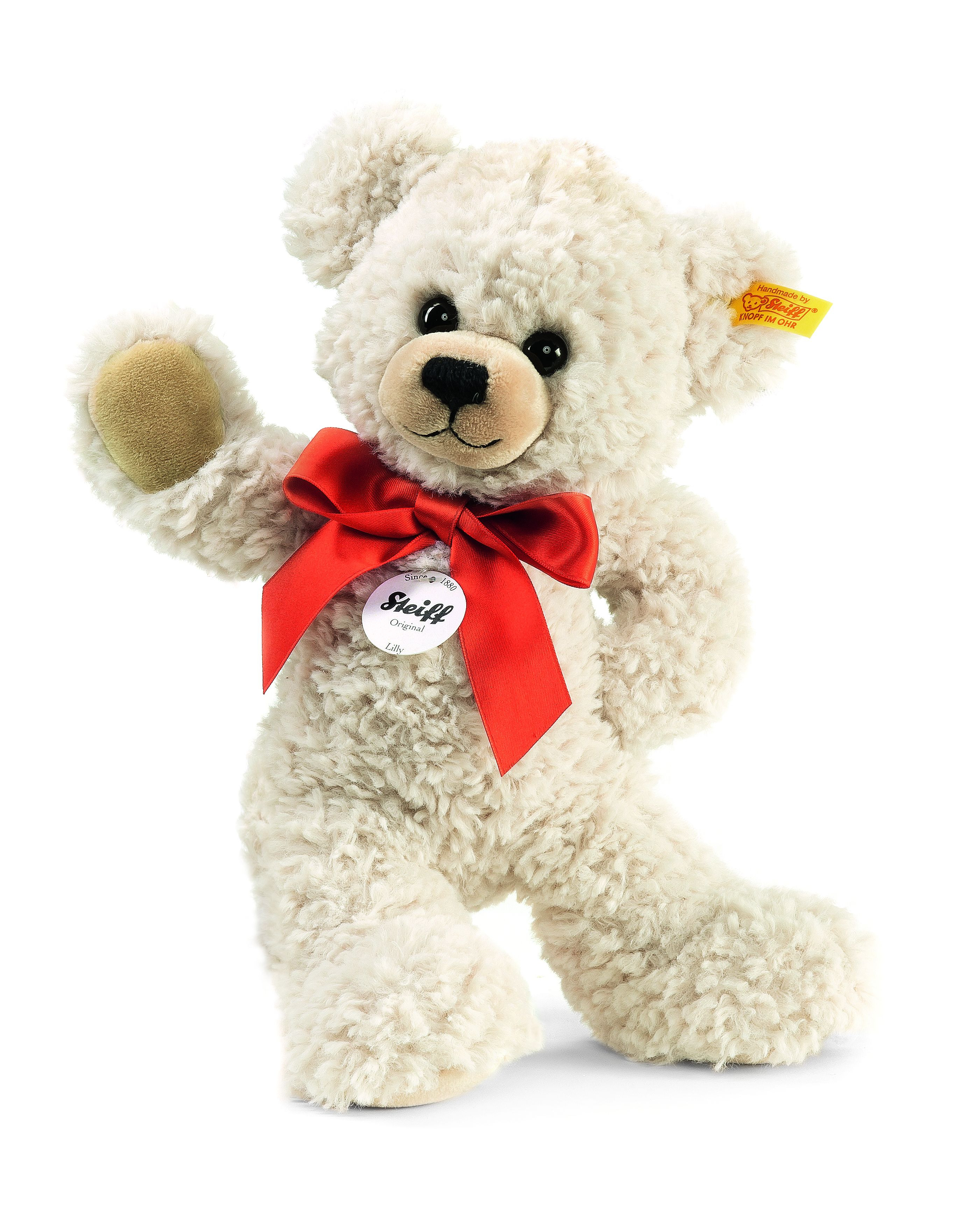Steiff Lilly Dangling Teddy Bear Cream 111556