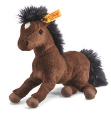 Hanoverian horse, ,brown, 22cm 280351