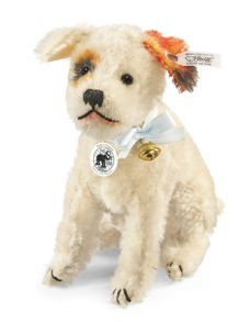 Steiff 17cm Spotty Replica 1928, Spotted White