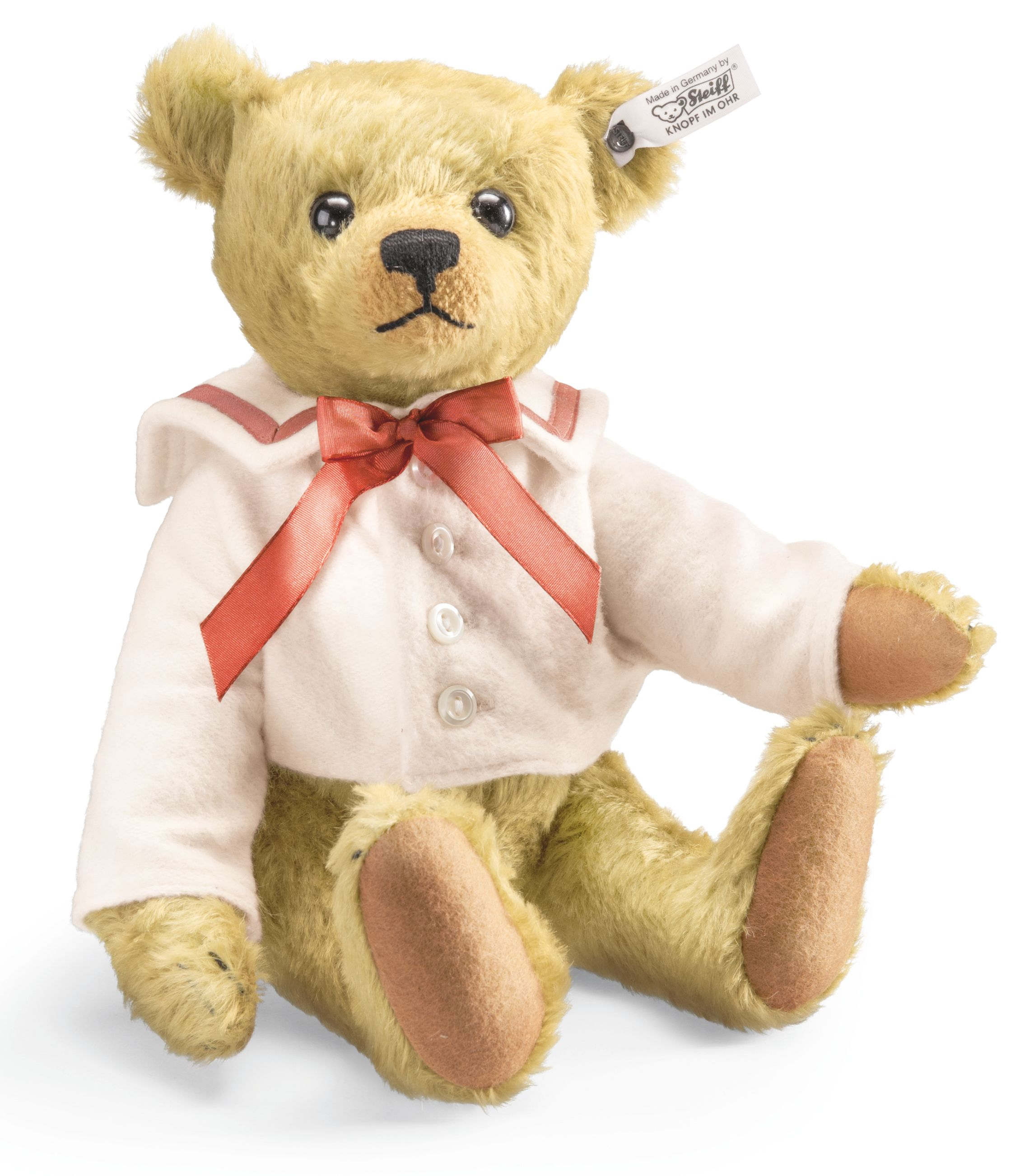 Steiff Archie Teddy Replica 1910 Brass 403149