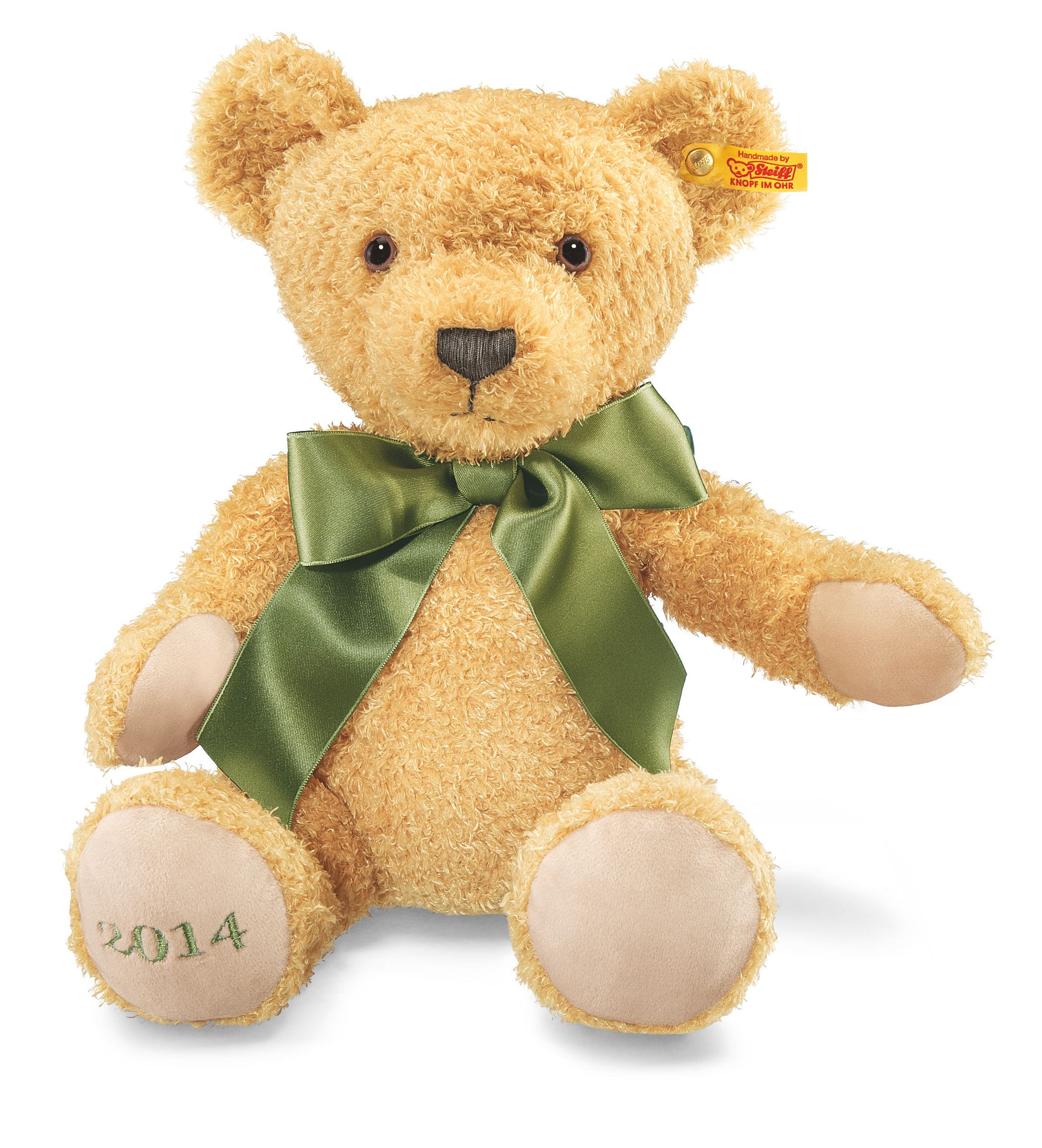 Steiff Cosy Year Bear 2014, Golden Brown (663604)