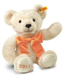 Year bear 2015, cream, 38cm 664625