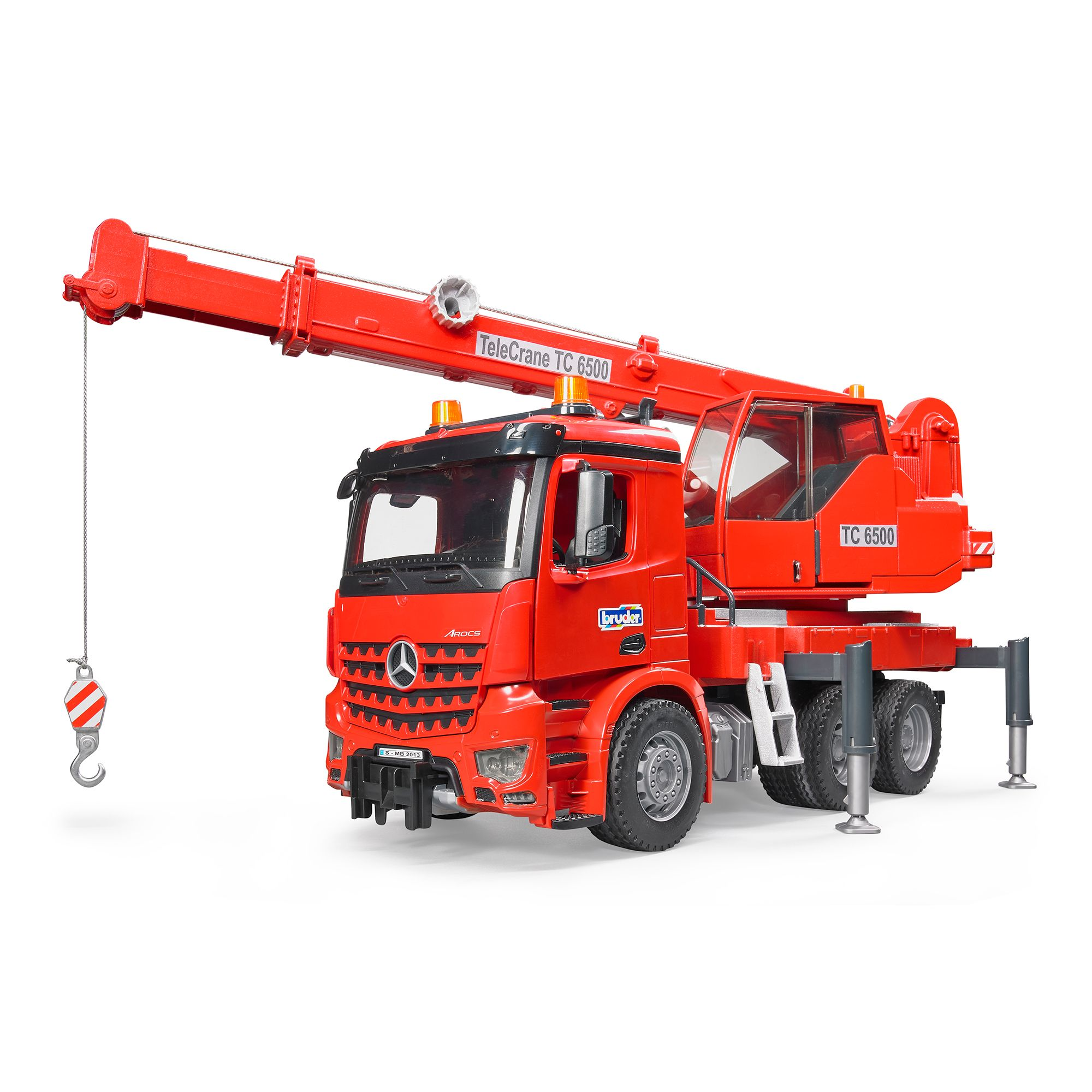 Bruder MB Arocs Crane Truck With Light & Sound