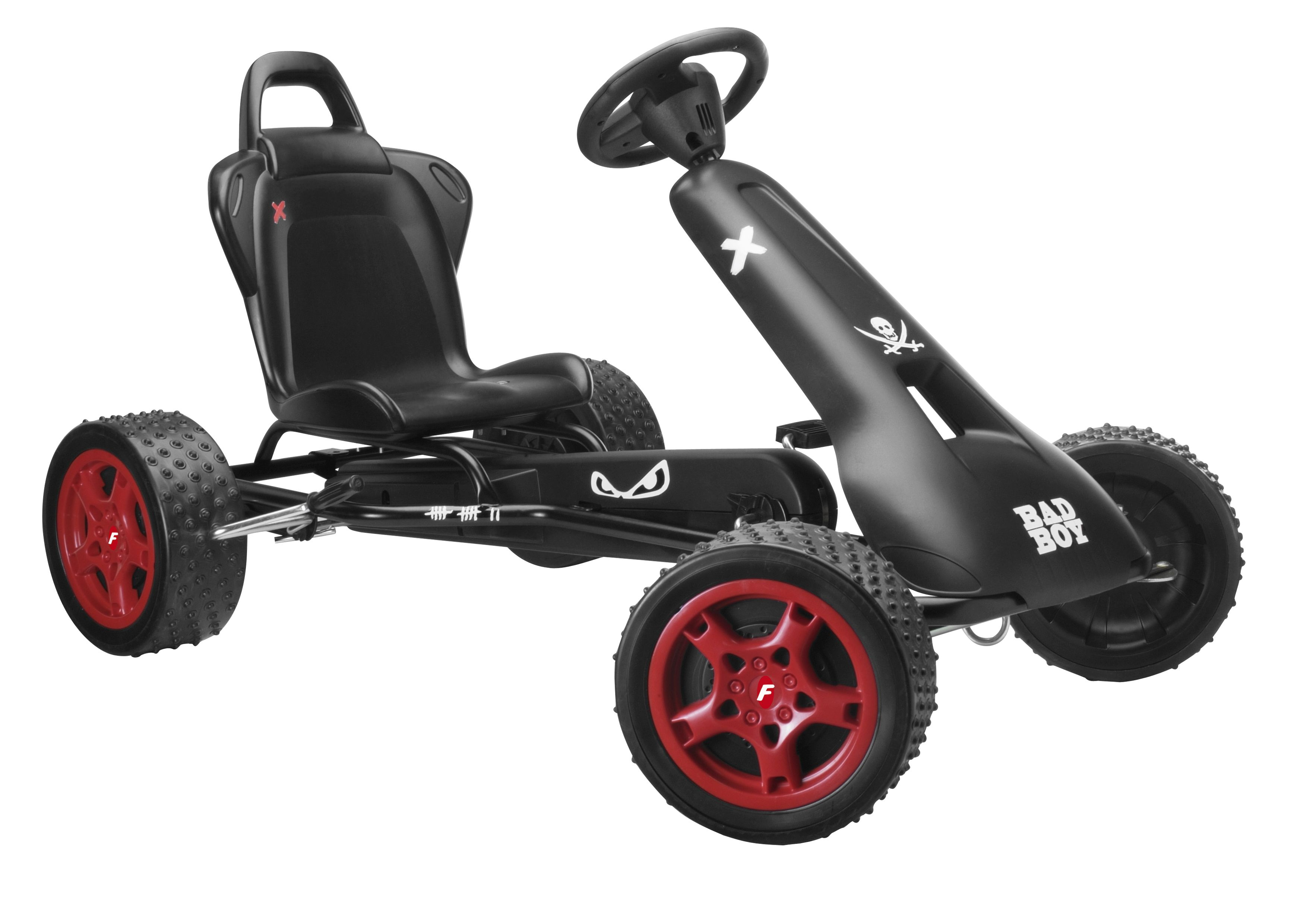 Cross Runner cr-1 Go Kart - Bad Boy Black
