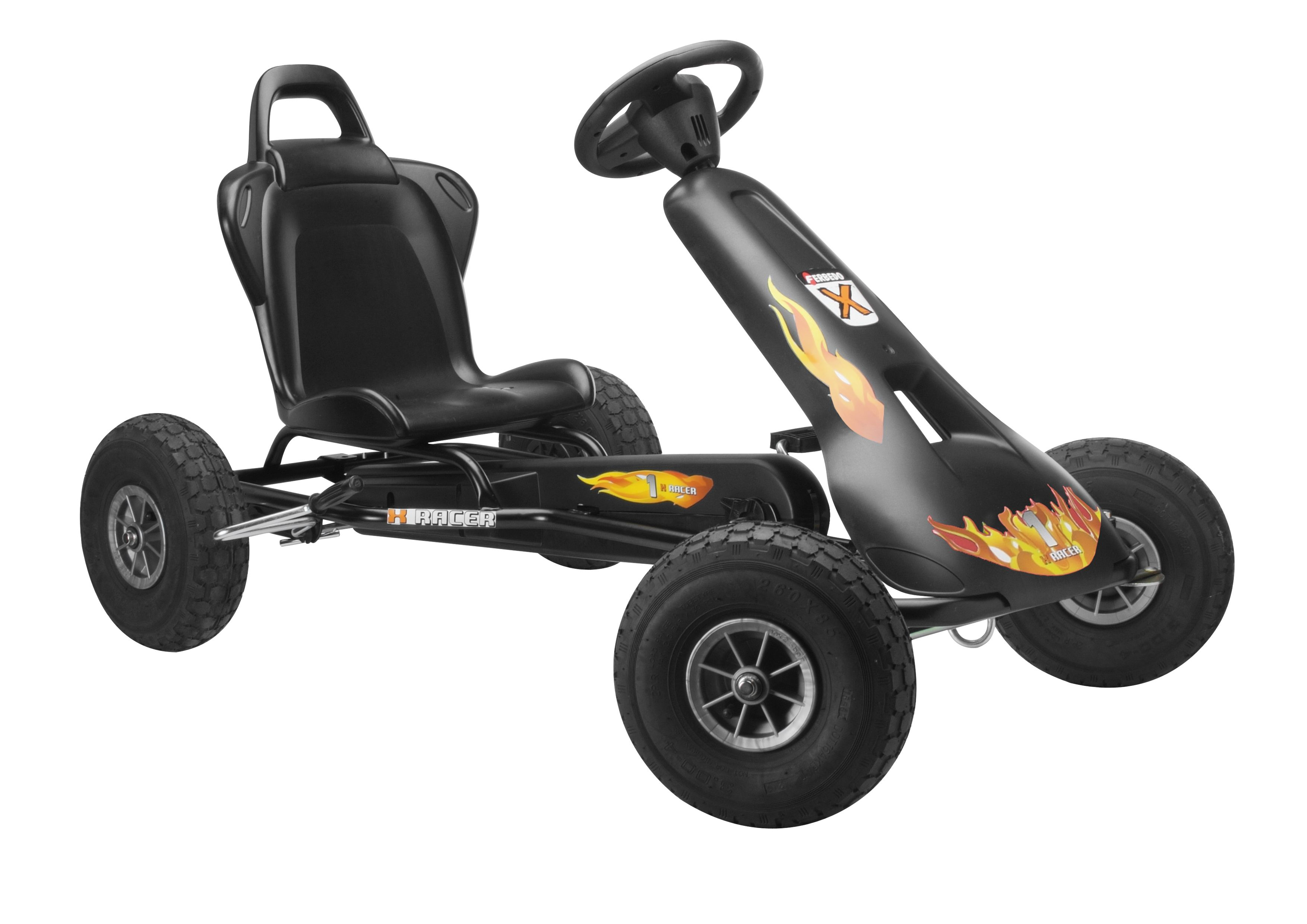 Air Racer ar-2 Go Kart - Black
