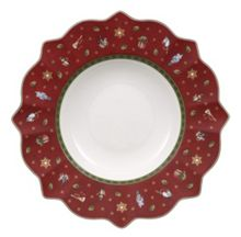 Villeroy & Boch Toy`s Delight deep red plate