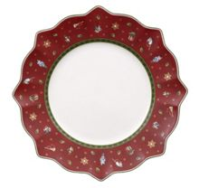 Villeroy & Boch Toy`s Delight red flat plate