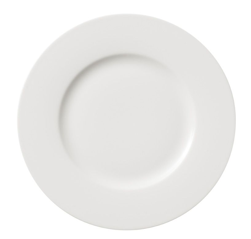 Twist white salad plate 21cm