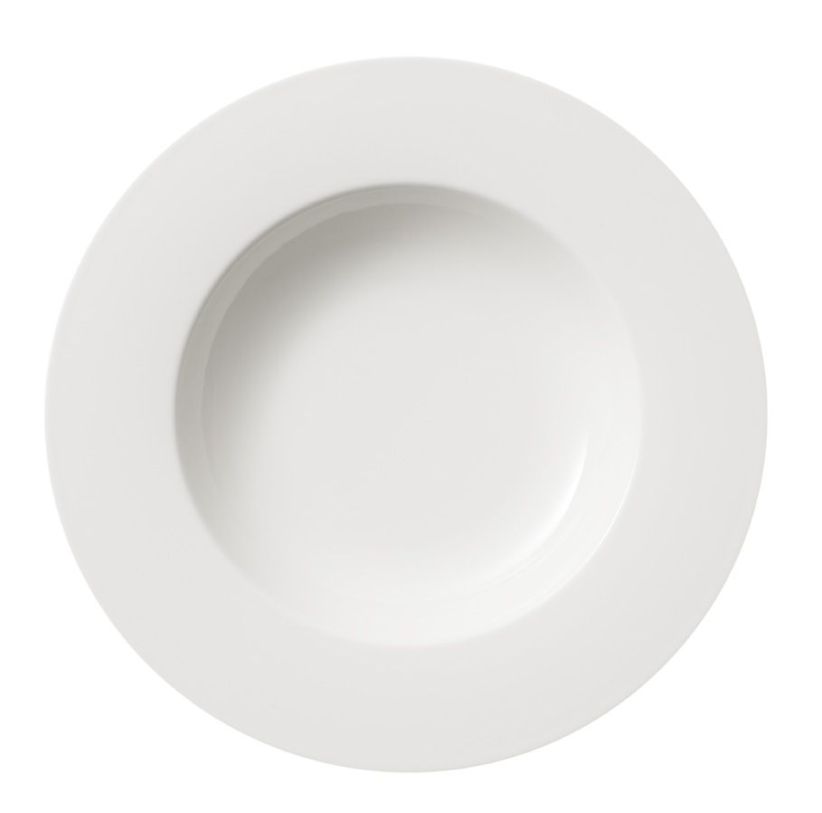 Twist white deep plate 24cm