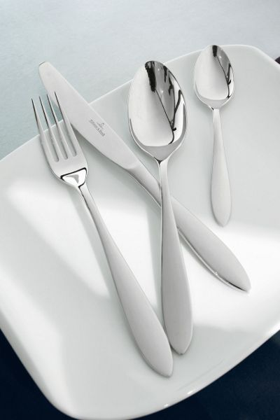 Villeroy & Boch Arthur brushed cutlery set, 24 pieces