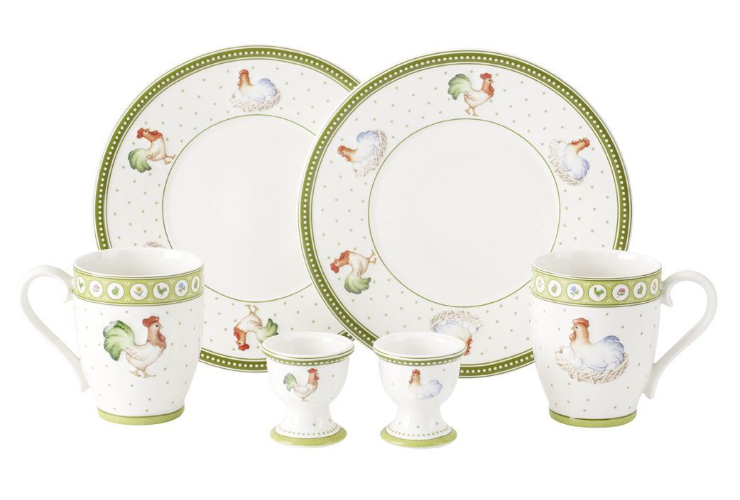 Farmers spring, Roost&Hen dinnerware range for tw