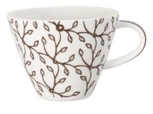 Caffe club floral mocha coffee cup