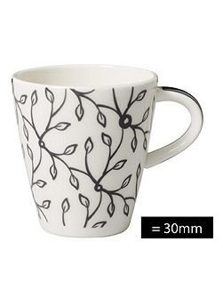 Caffe club floral steam espresso cup