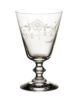 Old luxembourg red wine goblet