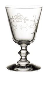 Old luxembourg white wine goblet
