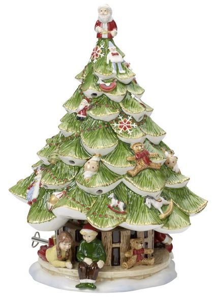 Villeroy & Boch Tree with children musical ornament