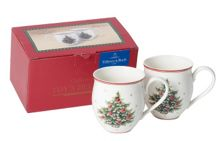Toy`s Delight Mug set 2pcs, X-mas tree 20x9x12cm
