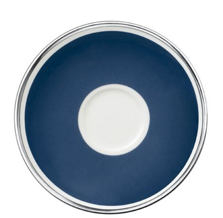 Villeroy & Boch Anmut my colour ocean blue saucer coffee cup