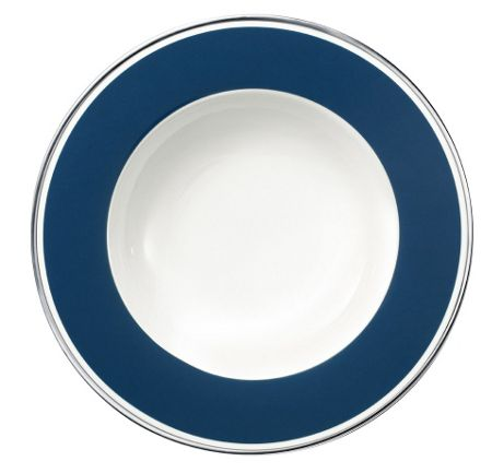 Villeroy & Boch Anmut my colour ocean blue deep plate