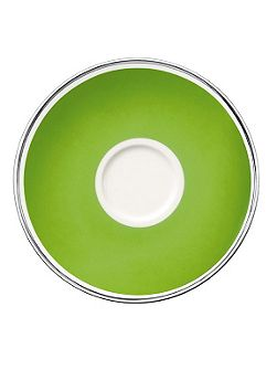 Villeroy & Boch Anmut forest green saucer coffee