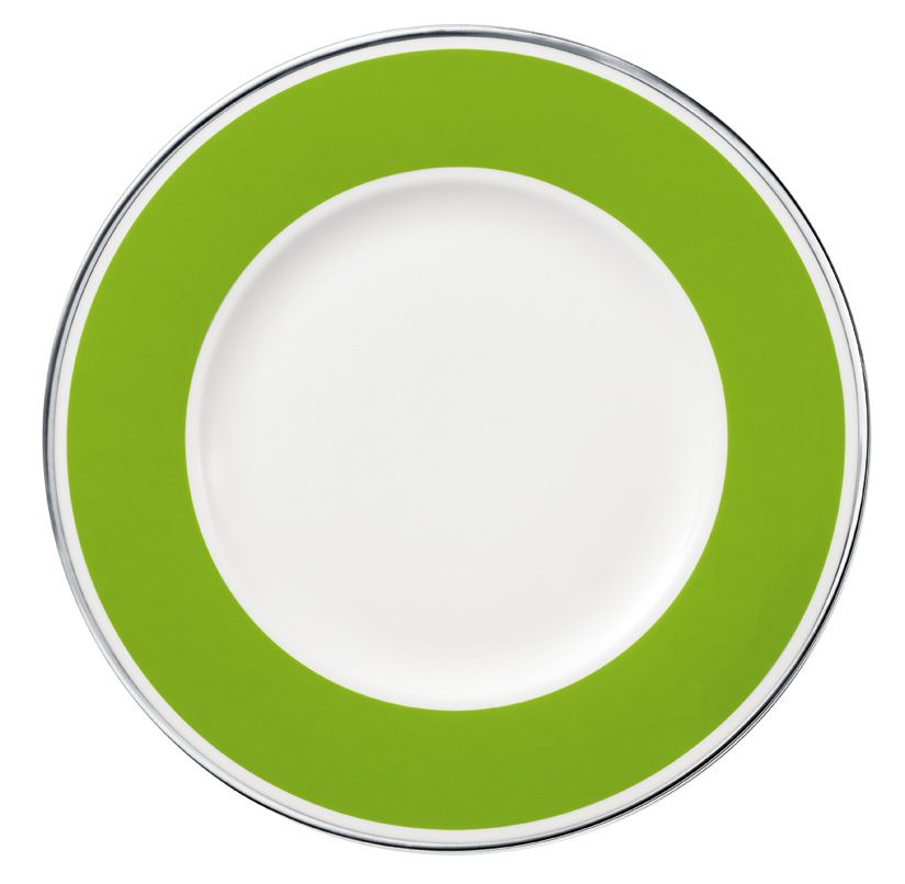 Anmut forest green salad plate 22cm