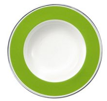 Anmut forest green deep plate 24cm