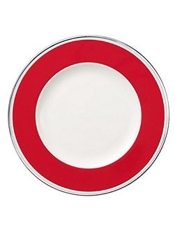 Anmut red cherry flat plate 27cm