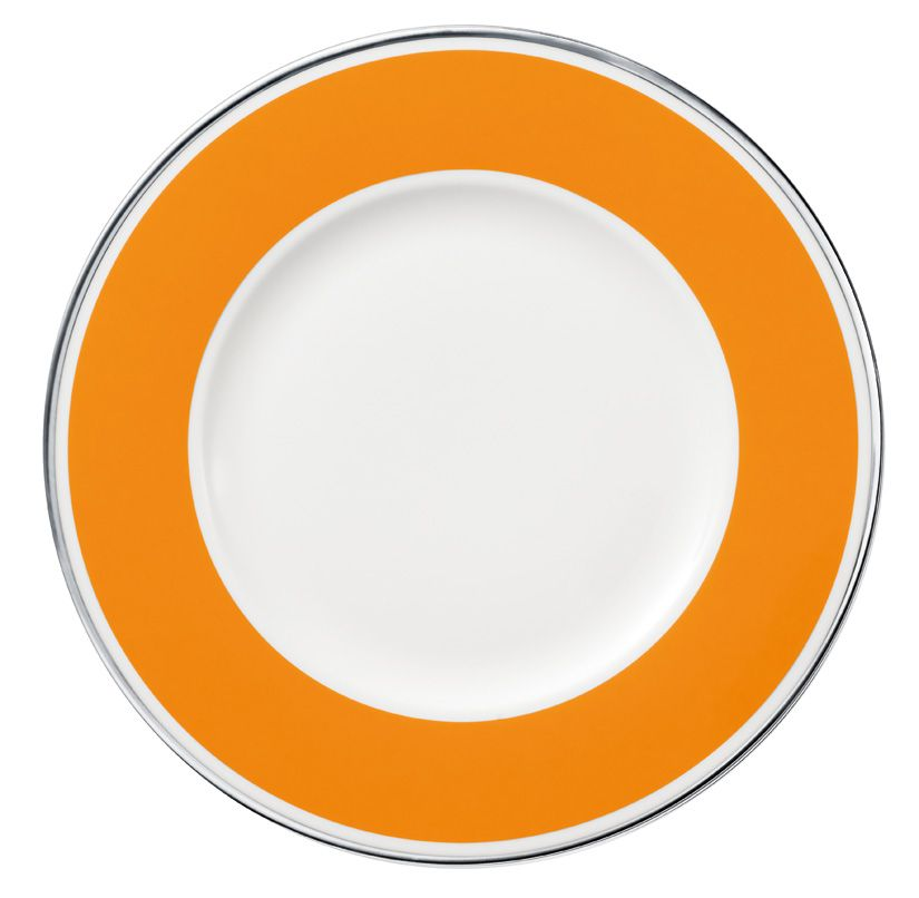 Anmut orange sunset flat plate 27cm