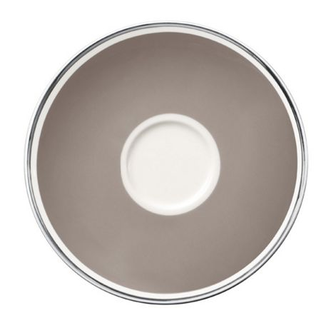 Villeroy & Boch Anmut my colour Rock Grey saucer coffee cup 15cm
