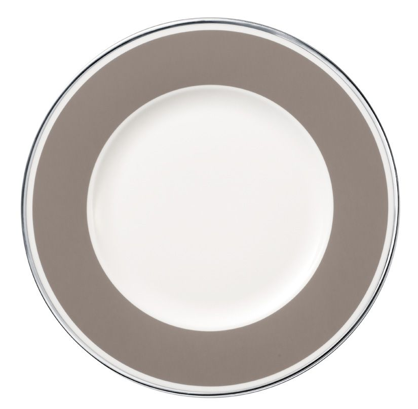 Anmut my colour rock grey salad plate