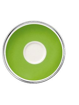 Anmut forest green saucer espresso cup