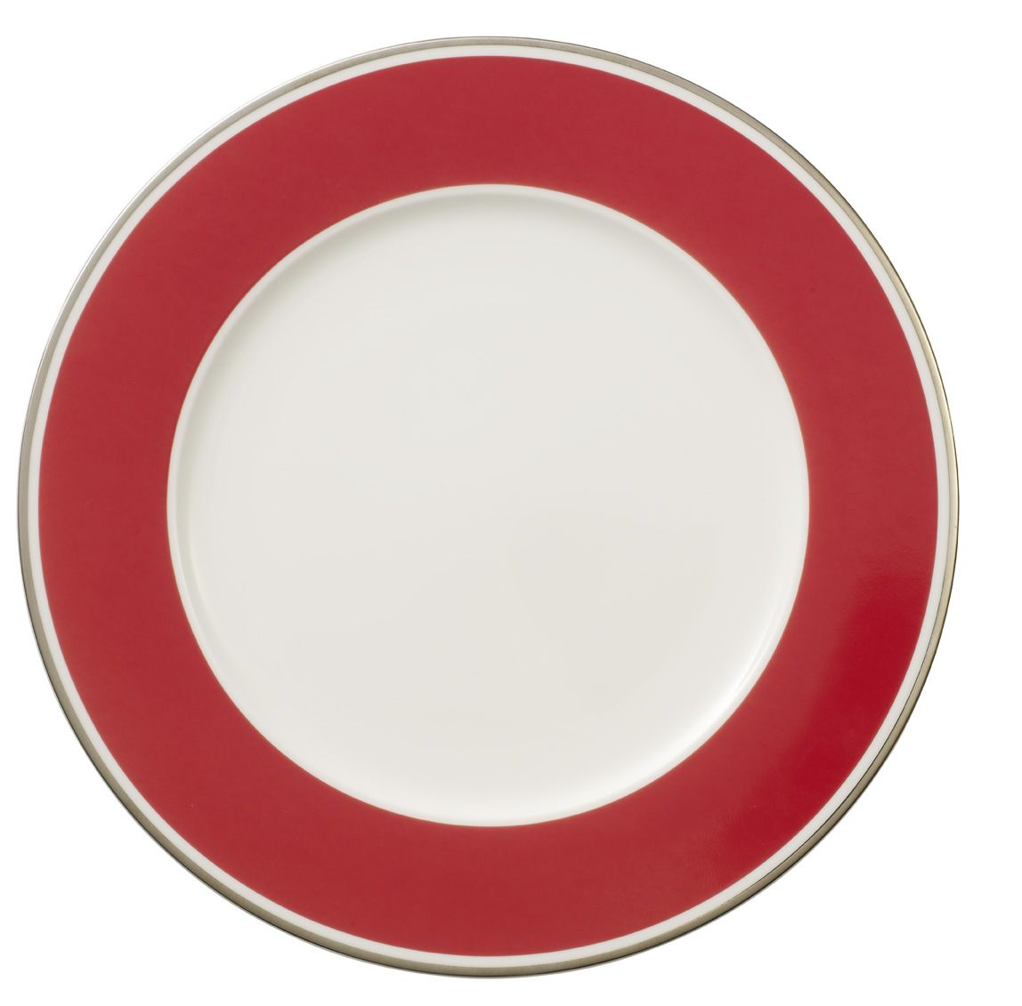 Anmut red cherry buffet plate 30cm