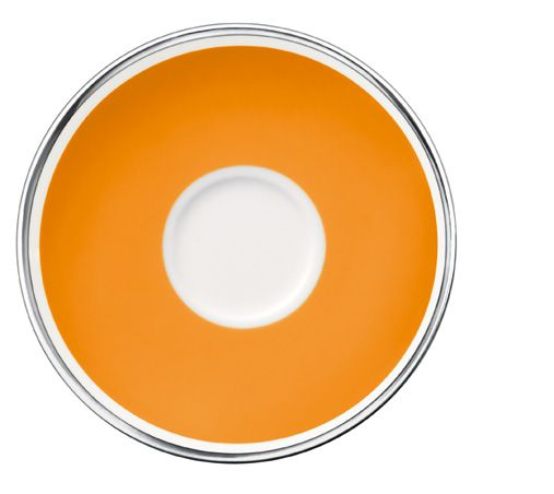 Anmut orange sunset saucer espresso cup 12cm