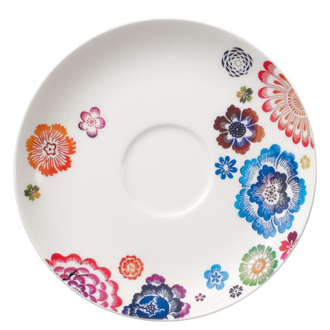 Anmut bloom breakfast saucer 17cm