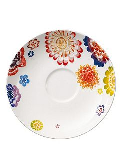 Anmut bloom coffee saucer 15cm