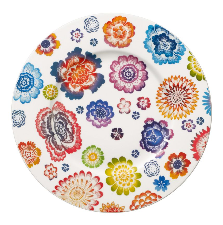 Image of Villeroy & Boch Anmut bloom salad plate 22cm