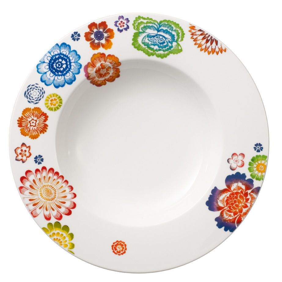 Anmut bloom deep plate 24cm