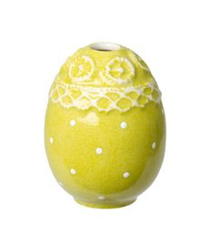 Villeroy & Boch Spring decoration egg vase, upright, green