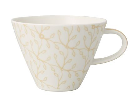 Floral vanille white coffee cup 0.39l