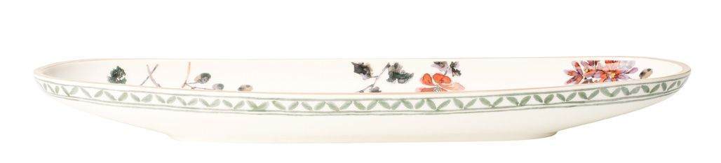 Art.prov.verd. french stick dish 44x14cm