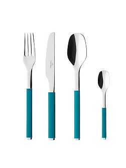 S plus petrol cutlery set 24 pieces